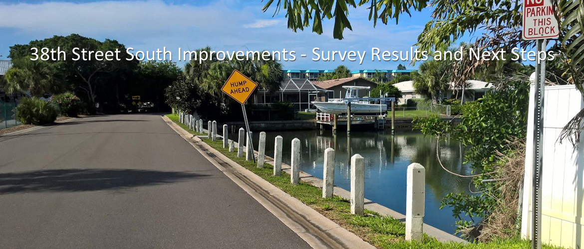 38th Street South Improvements - Suvery Results